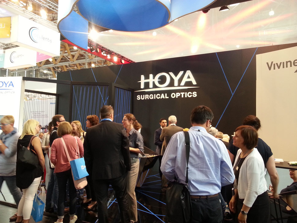 HOYA Surgical Optics at the DOC Congress 2016 in Nuremberg, Germany (2)