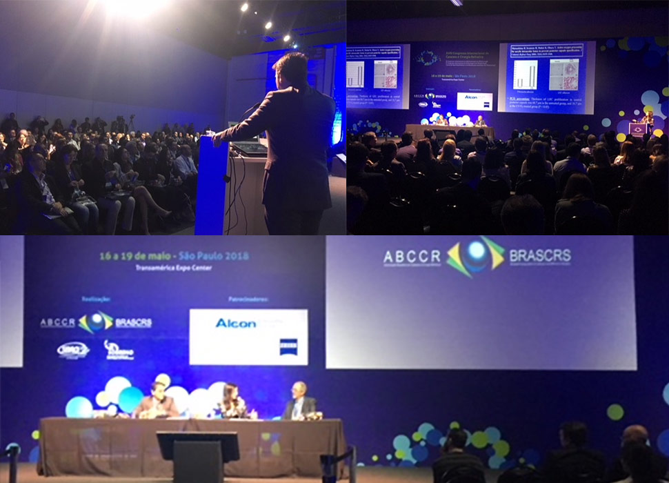 HSO Participation and Vivinex Launch the Brazilian Society of Cataract and Refractive Surgery Congress (BRASCRS) in São Paulo